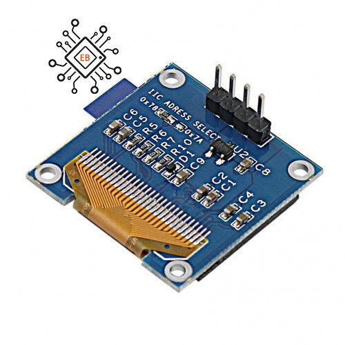 ماژول نمایشگر OLED I2C 0.96 inch blue