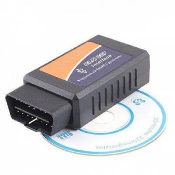اسکنر OBD/OBDII - مبدل ELM 327 ای سی یو - رابط USB (کپی)