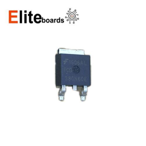 ترانزیستور ماسفت FCD380N60E SMD 10A 600V N-channel