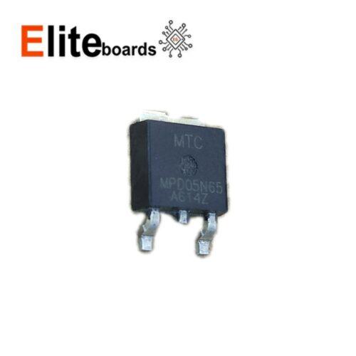 ترانزیستور ماسفت NPD05N65 SMD 5A 650V N-channel